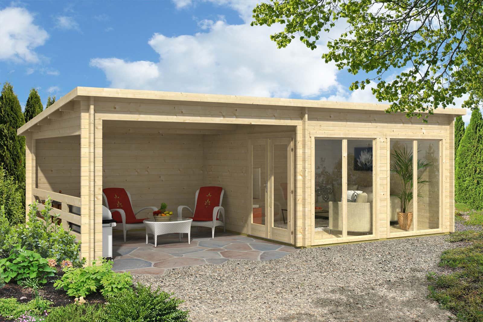 gartenhaus island 44 iso a z gartenhaus gmbh. Black Bedroom Furniture Sets. Home Design Ideas