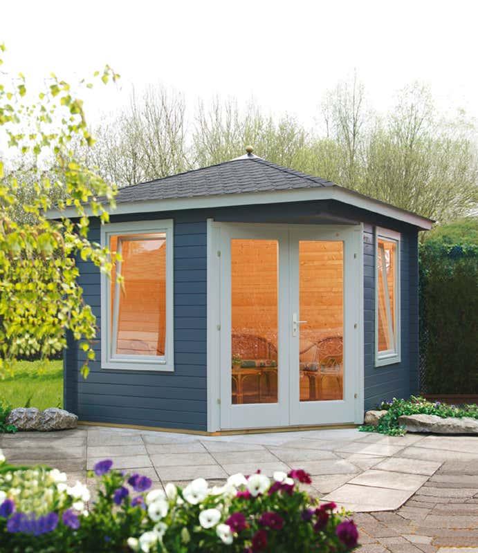 wolff 5 eck gartenhaus julia 28 b 535 020 a z gartenhaus gmbh. Black Bedroom Furniture Sets. Home Design Ideas