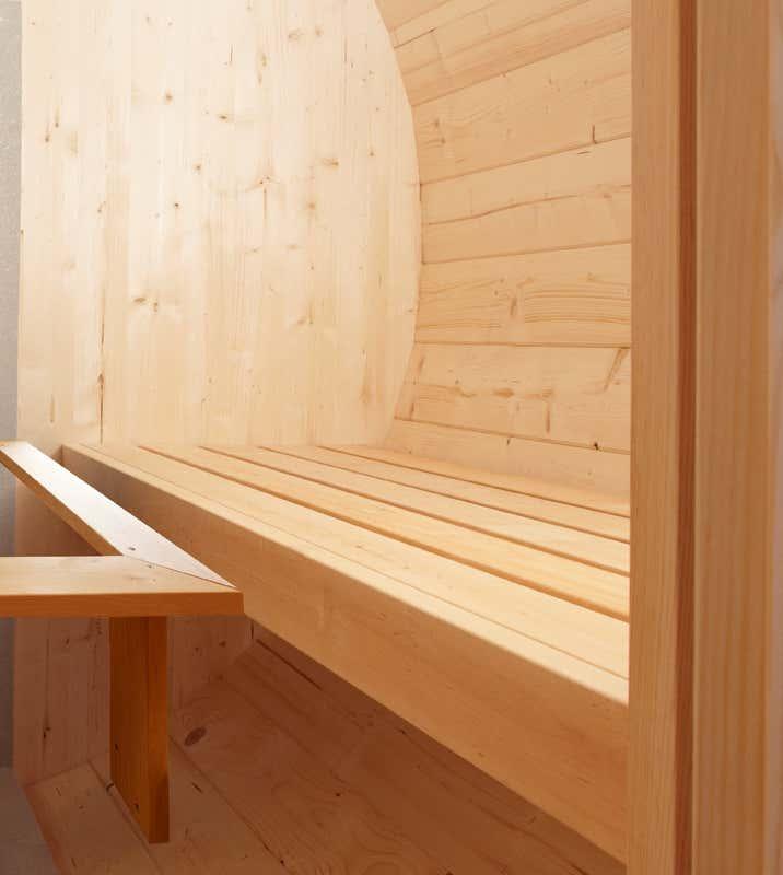 wolff finnhaus saunafass 250 a z gartenhaus gmbh. Black Bedroom Furniture Sets. Home Design Ideas