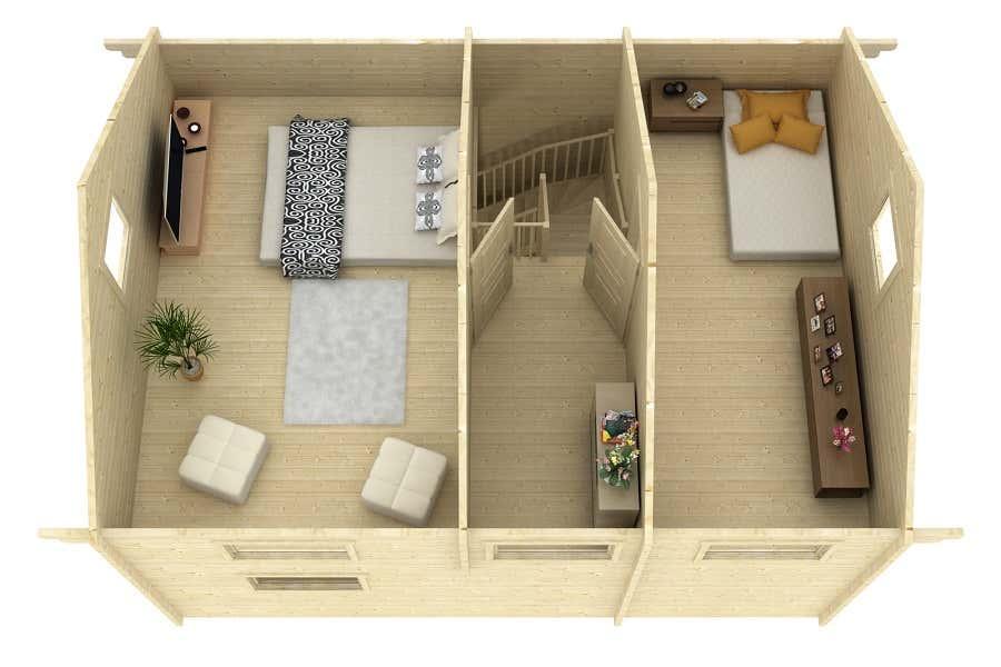 lasita maja ferien und freizeithaus matterhorn 70 iso 70111248 a z gartenhaus gmbh. Black Bedroom Furniture Sets. Home Design Ideas