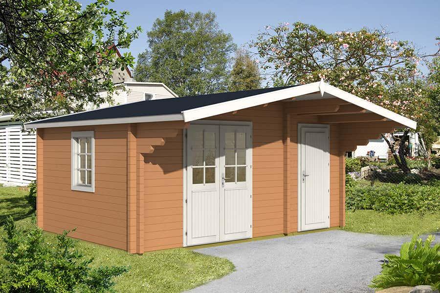 gartenhaus modell pedro 70 d 111801 a z gartenhaus gmbh. Black Bedroom Furniture Sets. Home Design Ideas