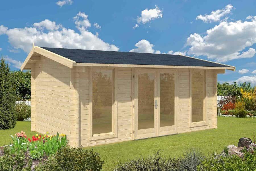lasita maja gartenhaus oxfordshire iso 4414002 a z gartenhaus gmbh. Black Bedroom Furniture Sets. Home Design Ideas