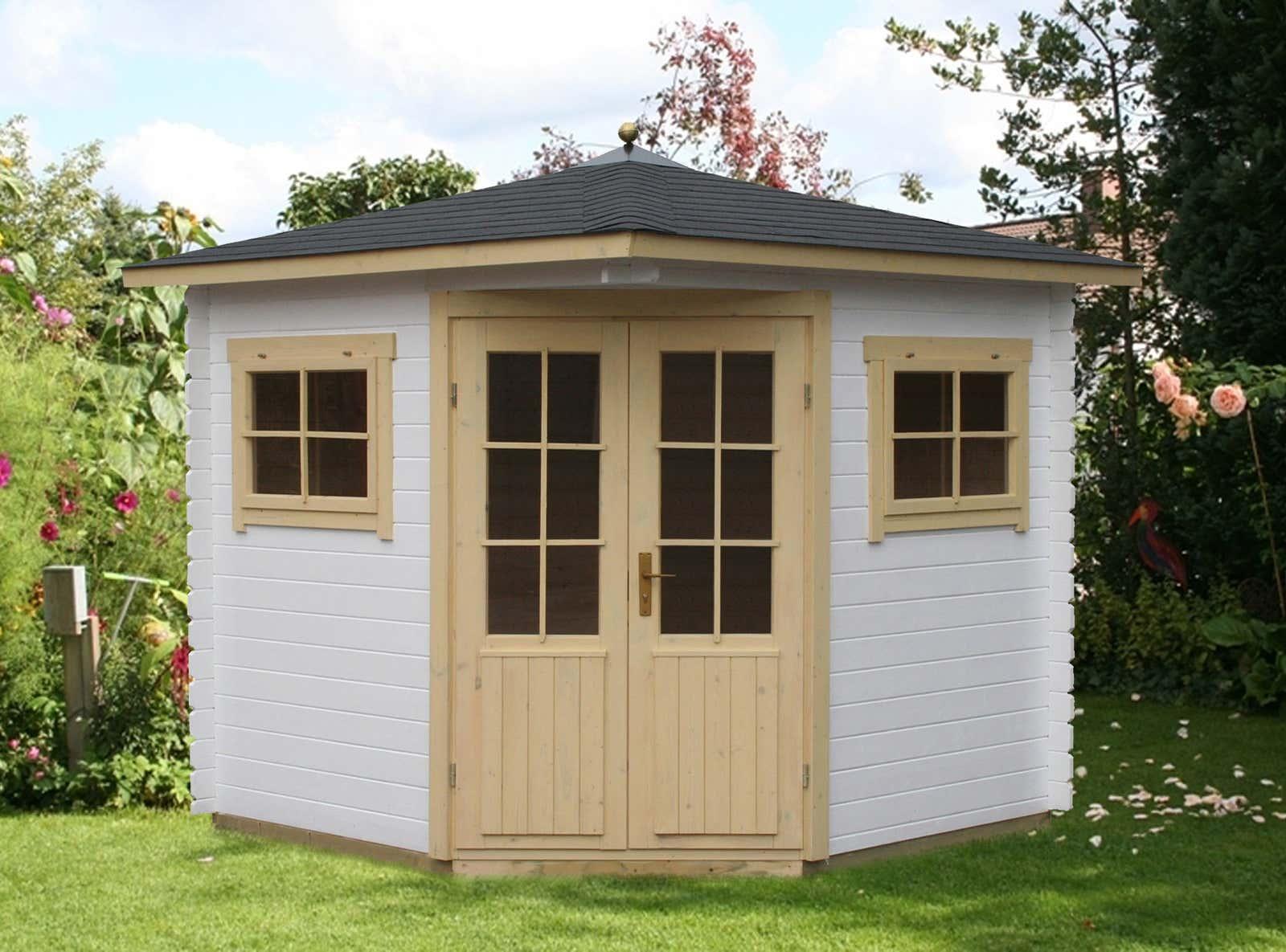 5 eck gartenhaus modell sunny a a z gartenhaus gmbh. Black Bedroom Furniture Sets. Home Design Ideas