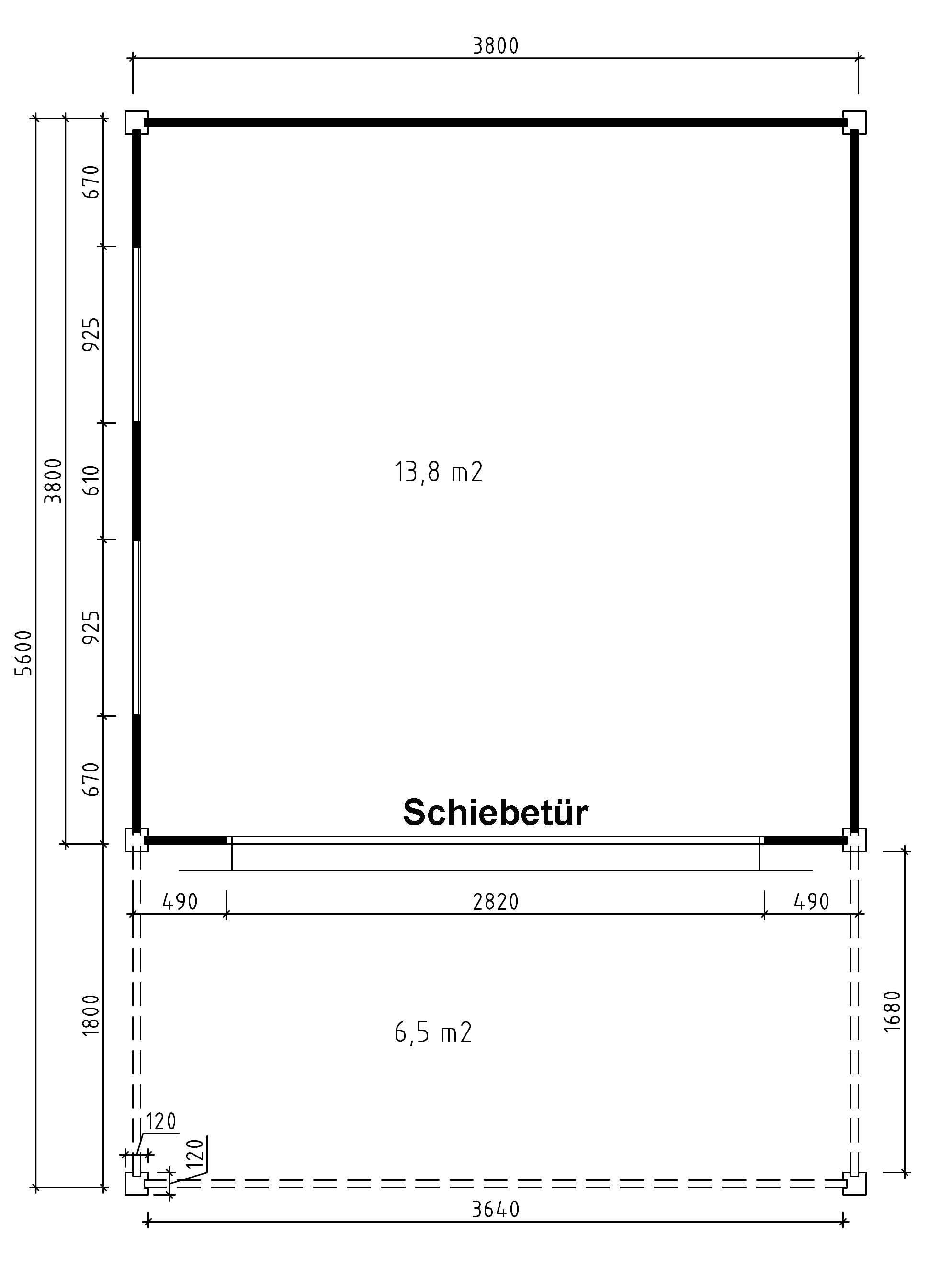 design gartenhaus cubus saturn40 a z gartenhaus gmbh. Black Bedroom Furniture Sets. Home Design Ideas