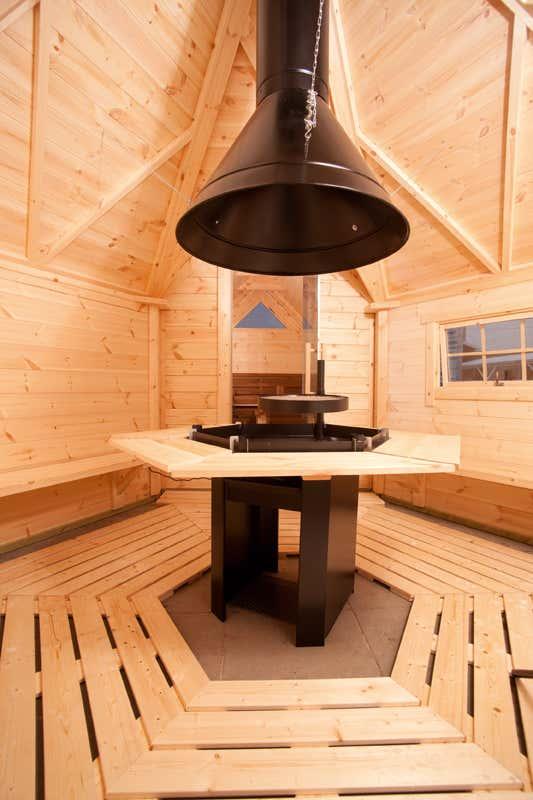 wolff finnhaus grillkota 9 de luxe iso a z gartenhaus gmbh. Black Bedroom Furniture Sets. Home Design Ideas