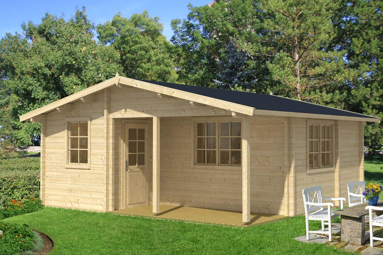 garten und freizeithaus modell hagen 70 iso a z. Black Bedroom Furniture Sets. Home Design Ideas