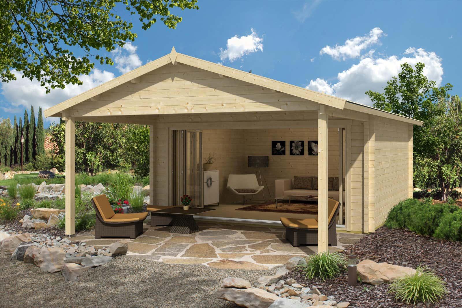 gartenhaus enzian 70 mit vordach premium a z gartenhaus gmbh. Black Bedroom Furniture Sets. Home Design Ideas