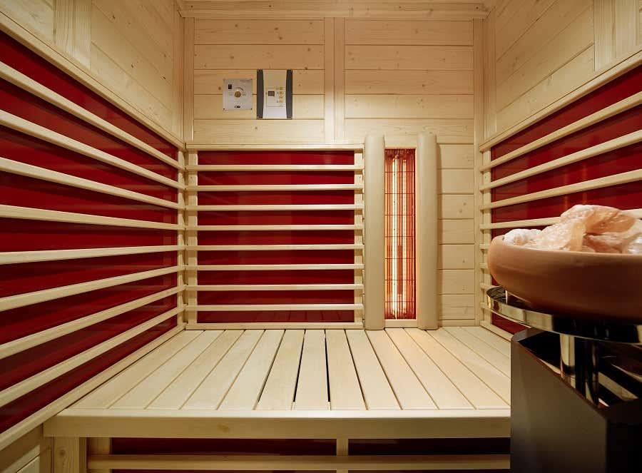 infraworld infrarotkabine triosol natura 148 plus 390126 a z gartenhaus gmbh. Black Bedroom Furniture Sets. Home Design Ideas
