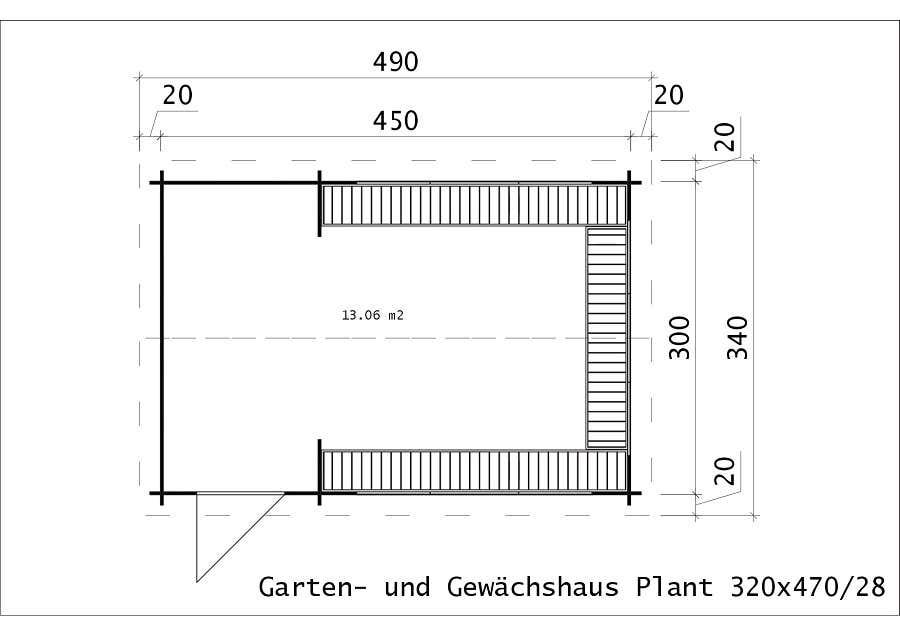 Garten und gewächshaus plant 28