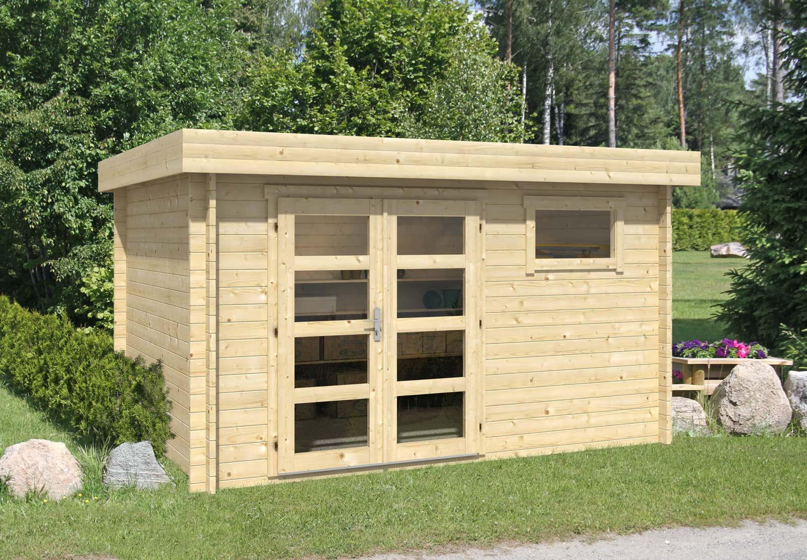 gartenhaus modell emma 40 a z gartenhaus gmbh. Black Bedroom Furniture Sets. Home Design Ideas