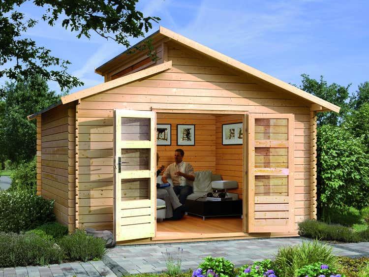 karibu gartenhaus v rmland 2 a z gartenhaus gmbh. Black Bedroom Furniture Sets. Home Design Ideas