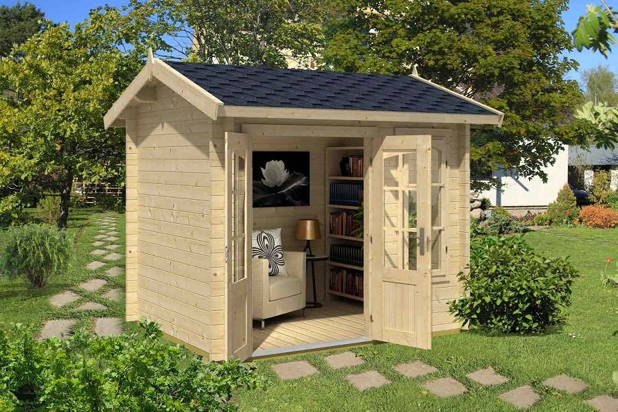 lasita maya gartenhaus alex mini iso 4416540 a z gartenhaus gmbh. Black Bedroom Furniture Sets. Home Design Ideas