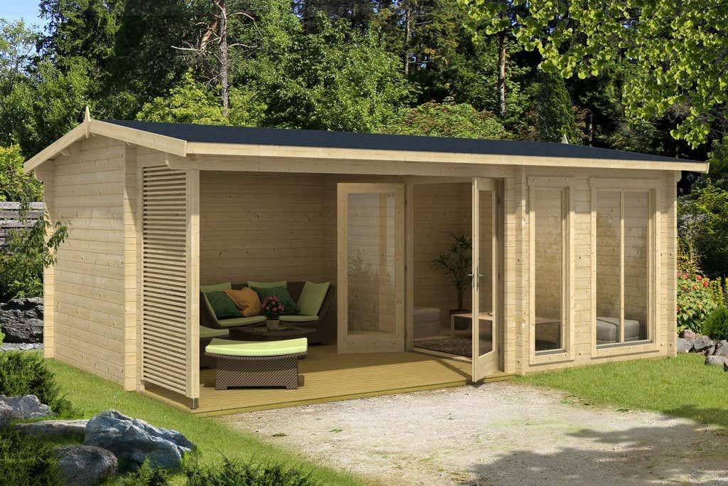 lasita maja gartenhaus torquay iso 4417502 a z. Black Bedroom Furniture Sets. Home Design Ideas