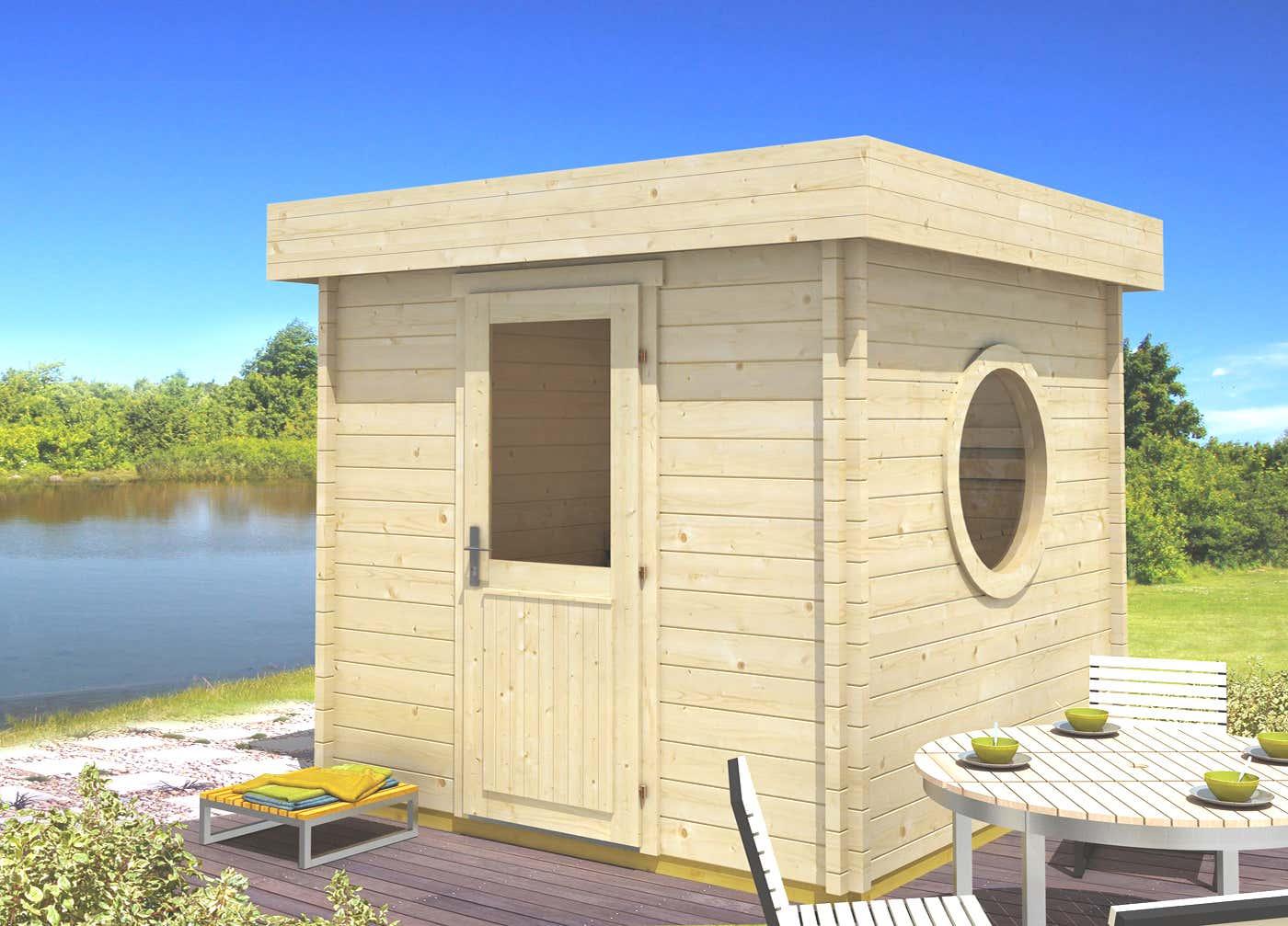saunahaus cubus 70 a a z gartenhaus gmbh. Black Bedroom Furniture Sets. Home Design Ideas