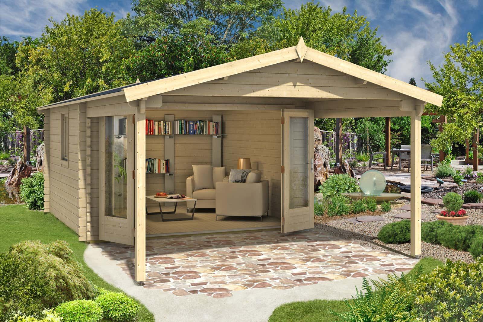 gartenhaus spessart 44 iso mit faltt ren gartenhaus spessart 44 iso mit faltt ren a z. Black Bedroom Furniture Sets. Home Design Ideas