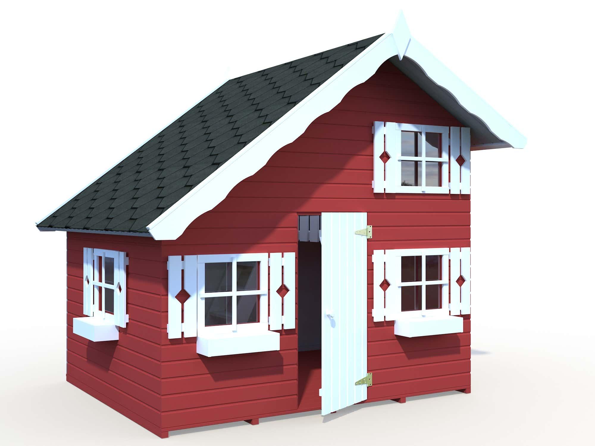 palmako kinderspielhaus tom elbd16 2218 a z gartenhaus gmbh. Black Bedroom Furniture Sets. Home Design Ideas