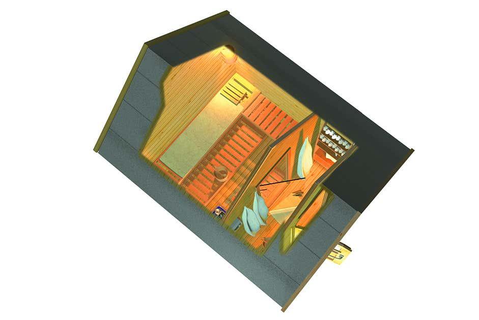 karibu saunahaus 2 25859 a z gartenhaus gmbh. Black Bedroom Furniture Sets. Home Design Ideas