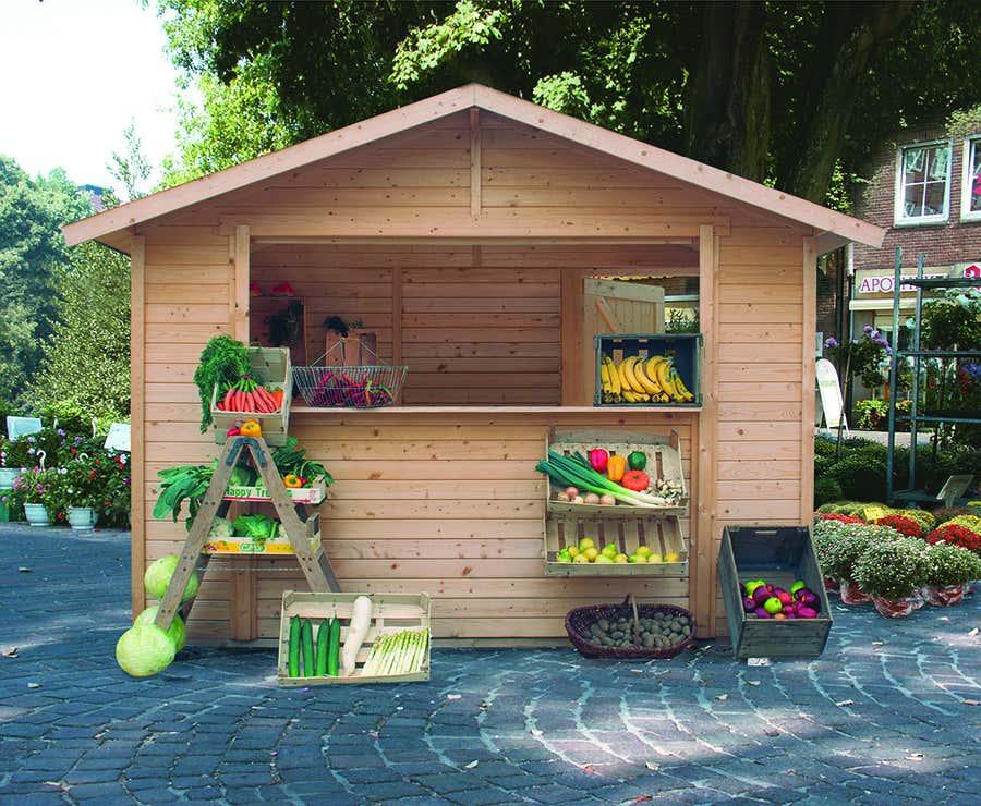 karibu marktstand 1 58489 a z gartenhaus gmbh. Black Bedroom Furniture Sets. Home Design Ideas