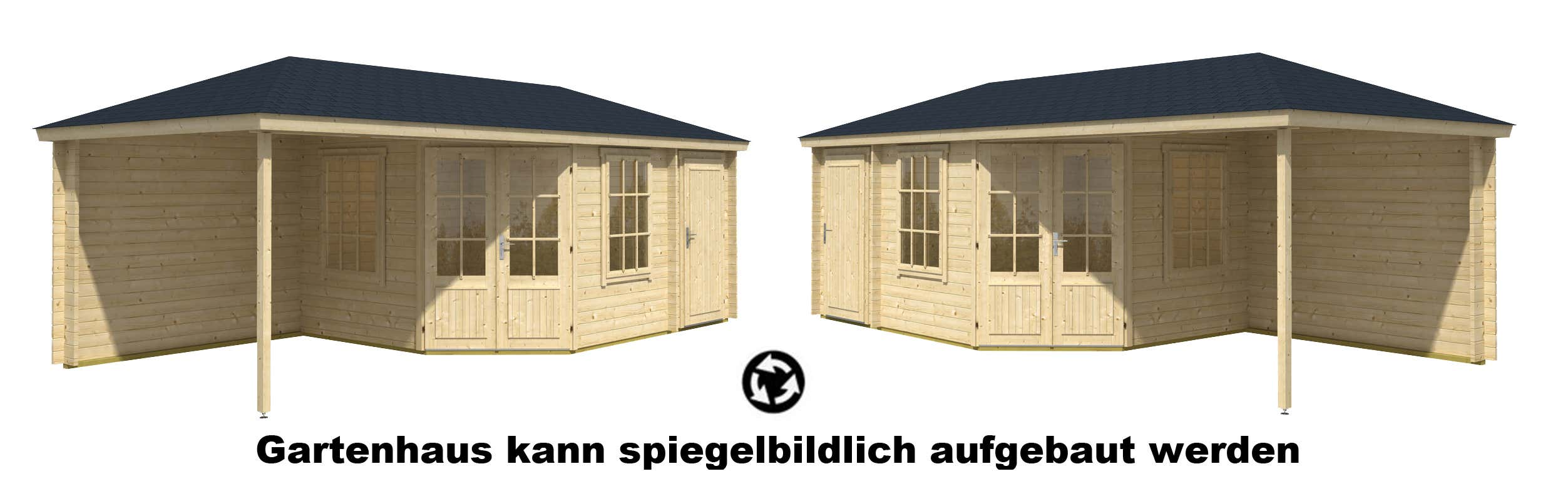 gartenhaus rhein 40 mit anbau my blog. Black Bedroom Furniture Sets. Home Design Ideas