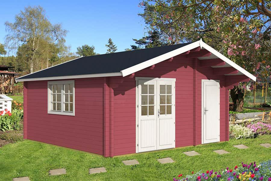 gartenhaus modell pedro 70 f 111803 a z gartenhaus gmbh. Black Bedroom Furniture Sets. Home Design Ideas