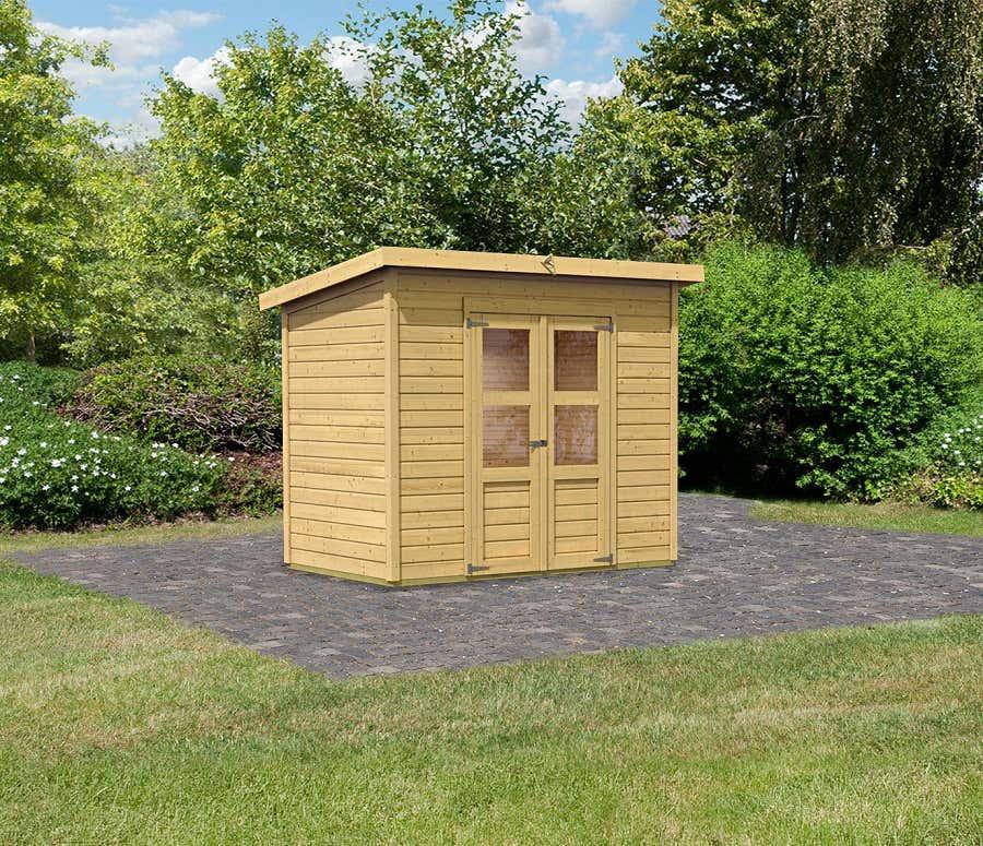 karibu ger tehaus merseburg 6 73065 a z gartenhaus gmbh. Black Bedroom Furniture Sets. Home Design Ideas