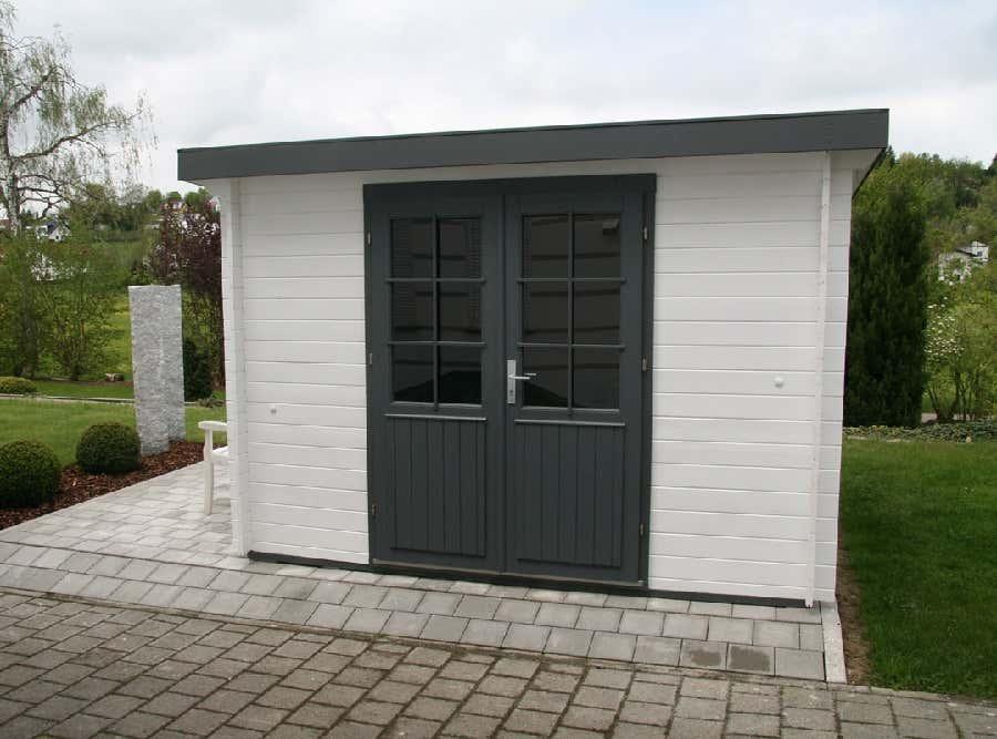 wolff pultdach gartenhaus pulti 28 c 228 050 a z. Black Bedroom Furniture Sets. Home Design Ideas