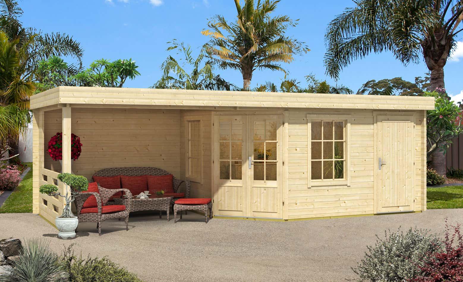 gartenhaus modell johanna a z gartenhaus gmbh. Black Bedroom Furniture Sets. Home Design Ideas