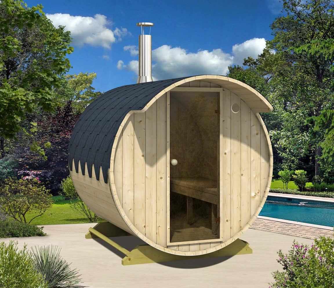 fass sauna modell tom mit harvia holz ofen fass sauna modell tom mit harvia holz ofen a z. Black Bedroom Furniture Sets. Home Design Ideas