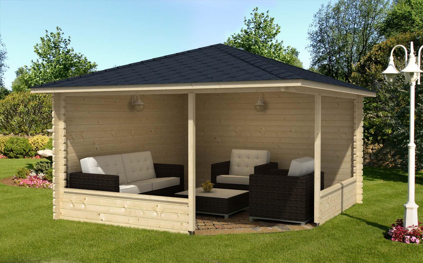 5 eck gartenh user online kaufen gartenhaus gmbh. Black Bedroom Furniture Sets. Home Design Ideas