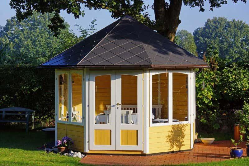 Gartenpavillon holz baugenehmigung - Gartenpavillon modern ...